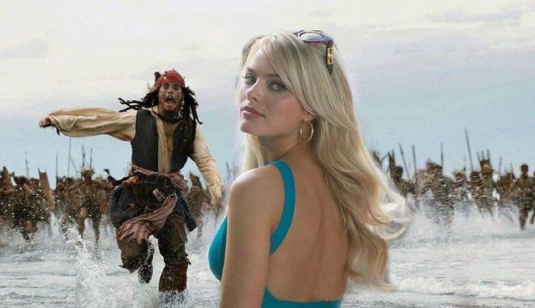 Марго Робби сыграет Джека Воробья вместо Джонни Деппа в «Пиратах Карибского моря»